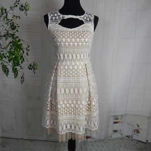 Francescas White Lace Dress